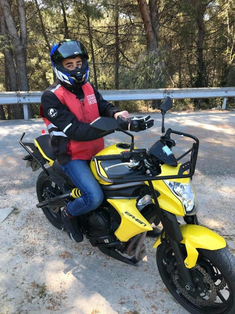 Moto Passerelle A2-A